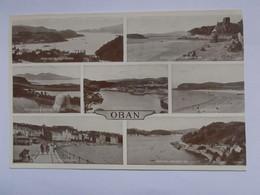 Oban - Various Views - Argyllshire