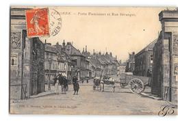 CPA _ Peronne _ Porte De Flamicourt _ Etat Superbe - Peronne