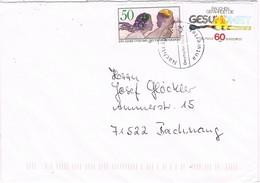 29710. Carta  BURSCHEID (Alemania Federal) 1984. Nachtraglich Entwertet. Cancelado Especial - [7] República Federal