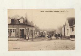 Cpa LUCY RIBEMONT Grande Rue - Le Café Tabac - Autres Communes