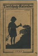 Darmstadt V. 1924  Tierschutz-Kalender  (53981-054) - Darmstadt