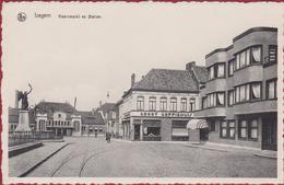 Izegem Korenmarkt Koornmarkt En Station ZELDZAAM Groor Koffiehuis (In Zeer Goede Staat) - Dentergem