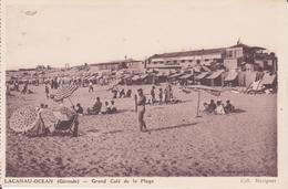 CPA - LACANAU OCEAN - Grand Café De La Plage - France
