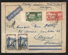 Cote D'Ivoire Lettre Avion Abidjan 7 Dec 1941 Ivory Coast Airmail Cover - Ivoorkust (1892-1944)