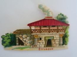 CH - Chromo Chocolat LOMBART - ETRUSQUE - Exposition Universelle 1889 - Otros
