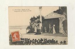 Cpa  Cote D'azur BANDOL SUR MER - Inauguration Du Theatre De La Mer - France