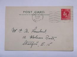 GB - Edward VIII Post Card - South Essex Recorders - 1902-1951 (Kings)