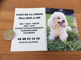 "Calendrier 2017 ""CAFÉ DE LA FORGE - Chez DAN Et DD - TAL AR GROAS (29) / Caniche (chien)"" - Small : 2001-..."