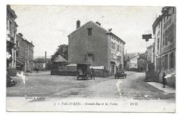 VAL D'AJOL - Grande Rue Et Les Ecoles - Frankreich