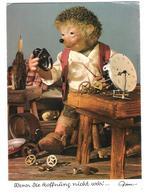 Mecki - No. 423 - Hedgehog - Wenn Die Hoffnung Nicht Wär ... - Clock - Uhr - Mecki