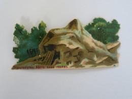 CH - Chromo Chocolat LOMBART - Troglodytes : Abri Sous Roches  - Exposition Universelle De 1889 - Otros