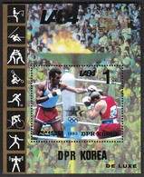 DPR Korea 1983 / Olympic Games Los Angeles 1984 / Boxing / Michel Bl 162 / MNH - Sommer 1984: Los Angeles