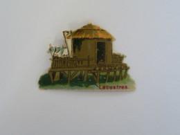 CH - Chromo Chocolat LOMBART - Lacustres  - Exposition Universelle De 1889 - Otros