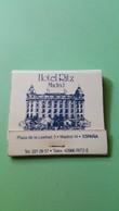 Allumette - HOTEL - ESPAGNE - Madrid - Hôtel RITZ Madrid .... - Boites D'allumettes