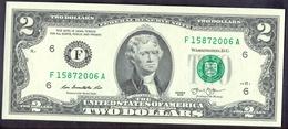 USA 2 Dollars 2013 F  - UNC # P- 538 < F - Atlanta GA > - Federal Reserve (1928-...)