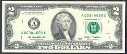 USA 2 Dollars 2009 A  - UNC # P- 530A < A - Boston MA > - Federal Reserve (1928-...)
