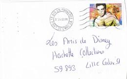 29716. Carta  JOUQUES (Bouches Du Rhone) 2003. Boxing, Boxeo. Marca De Pont De L'Arc - France