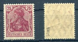 Deutsches Reich Michel-Nr. 148II Postfrisch - Geprüft - Ungebraucht