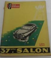 Action Automobile Octobre 1950 Spécial Salon Auto Delage Delahaye Gregoire Renault 4 CV Citroën 2 CV Simca Sport - Auto/Moto