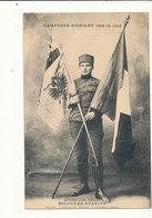 CAMPAGNE D ORIENT GUERRE DE 1914 MILOUNKA STAVITZ L HEROINE SERBE CPA BON ETAT - Weltkrieg 1914-18
