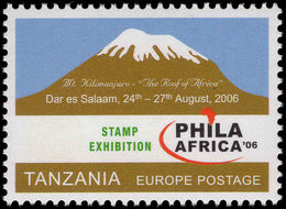 Tanzania 2006 Philafrica Unmounted Mint. - Tanzania (1964-...)