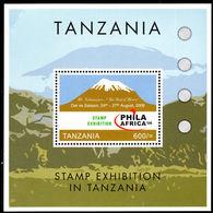 Tanzania 2006 Philafrica Souvenir Sheet Unmounted Mint. - Tanzania (1964-...)