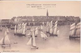 CPA -  3758. ST MALO  - Vue Générale - Saint Malo