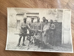 Photo 15 X 10 Cm Mitrailleurs Du 52º RI 1914-1918 - 1914-18