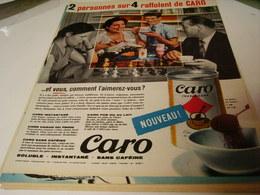 ANCIENNE AFFICHE PUBLICITE RAFFOLENT DU CAFE DE CARO 1959 - Posters