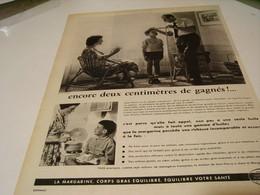 ANCIENNE PUBLICITE ENCORE 2 CM DE GAGNES  CENTRE D ETUDE DE LA MARGARINE 1959 - Posters