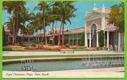 PALM BEACH - Royal Poinciana Plaza Carte Circulé 1967 - Palm Beach
