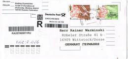 29722. Carta Certificada MOSCU (Rusia) 2016 To Germany - 1992-.... Federazione