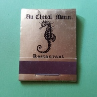 Allumette - Restaurant - BELGIQUE - Bruxelles - AU CHEVAL MARIN .... - Zündholzschachteln