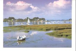 Le Golfe Du Morbihan-Bretagne-rives Orientales Du Golfe Entre Séné Et Saint-Armel (Vannes)-voilier-petits Bateaux - Vannes