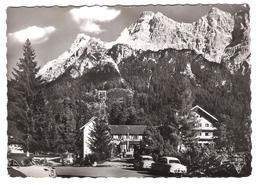 Österreich - Ehrwald - Zugspitzbahn - Talstation - Tirol - Old Cars - Autos - Oldtimer - Opel - Old Bus - Ehrwald