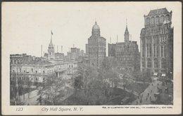 City Hall Square, New York City, C.1905 - Illustrated Post Card Co U/B Postcard - Manhattan