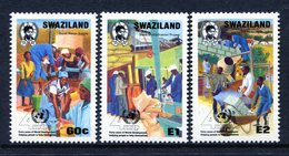 Swaziland 1990 40th Anniversary Of United Nations Development Programme Set MNH (SG 576-578) - Swaziland (1968-...)