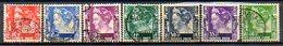 PAYS-BAS - (INDE NEERLANDAISE) - 1934-37 - N° 169 Et 187A à 194 - (Effigie De La Reine Wilhelmine) - Niederländisch-Indien