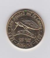 Aubagne Louis Sicard 2015 (cigale ) - Monnaie De Paris