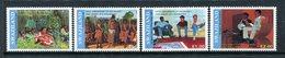 Swaziland 1991 5th Anniversary Of King Mswati III's Coronation Set MNH (SG 588-591) - Swaziland (1968-...)