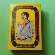 RARE - MR. CHOW MATCHBOX - ED RUSCHA AND DAVID HOCKNEY ART - Boites D'allumettes