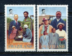 Swaziland 1992 Centenary Of Evangelical Alliance Missions Set MNH (SG 620-621) - Swaziland (1968-...)