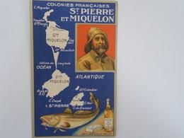 CH - Chromo - FELIX POTIN  - Colonies Françaises - SAINT PIERRE ET MIQUELON - Félix Potin