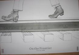Affiche IZU Tôru On The Frontier Kana éditions 2018 - Affiches & Offsets