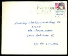 Nederland Envelop Met Plaatfout 1978 NVPH 1171 P Rode Punt Tussen R En L Van Nederland - Variétés Et Curiosités