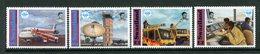 Swaziland 1994 50th Anniversary Of Civil Aviation Authority Set MNH (SG 642-645) - Swaziland (1968-...)