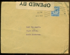 Great Britain Letter 1915 Opened By Censor - 1902-1951 (Rois)