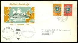 Nederland 1959 Speciale Envelop Met NAVO-serie 720-721 - 1949-1980 (Juliana)