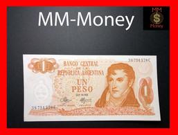 ARGENTINA 1 Peso L. 18.888 P. 287 Serie C  UNC - Argentine