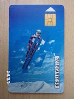 F173B Saut à Ski 50U GEM - Jeux Olympiques